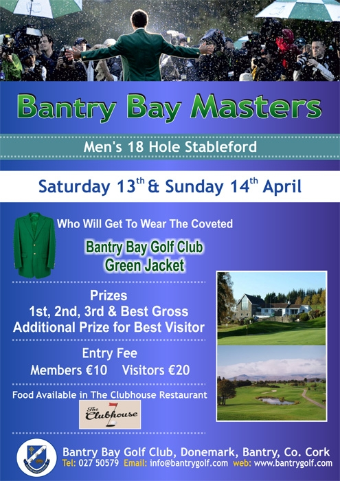 Bantry bay Golf Club masters Poster.cdr