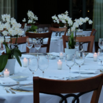 image of a dinner table