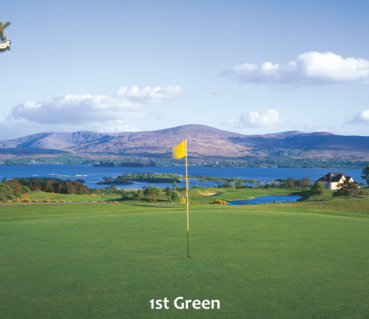 image of first green ring of kerry