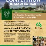 Poster for Charity Golf Day